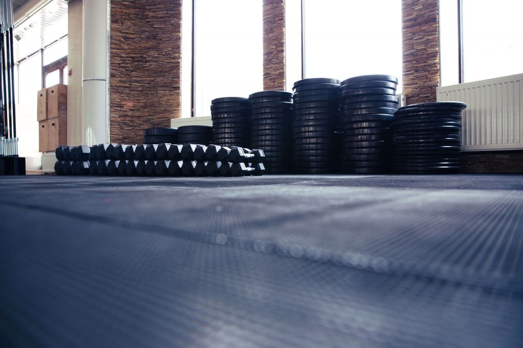 weights and dumbells for at home gym